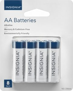 picture of Insignia AA or AAA 8 pack Battery Sale