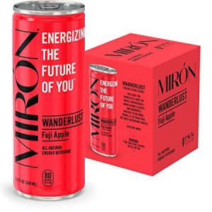 Miron All Natural Sparkling Energy Drink Sale 24pk 8 4oz