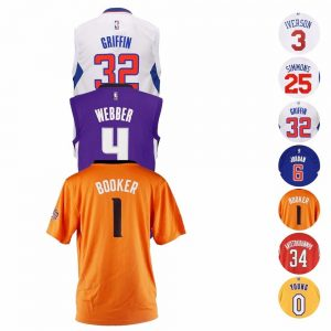 picture of NBA Official Replica Basketball Player Jersey Collection Adidas Youth