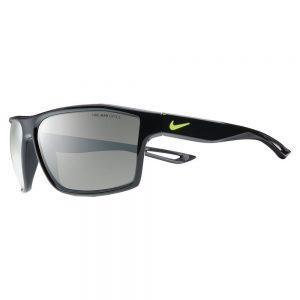 picture of Nike Legend 65 Matte Black Frames Yellow Swoosh Grey Lenses Sale