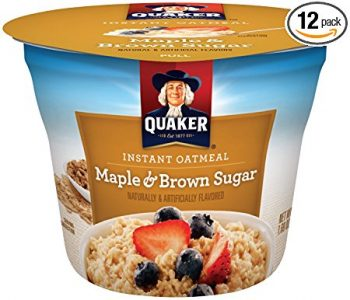 picture of Quaker Instant Oatmeal Maple Brown Sugar 12 Pack