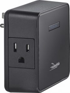 picture of Rocketfish 2-Outlet Wall Tap Surge Protector