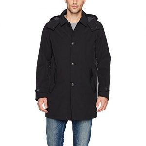 picture of Tommy Hilfiger Men's Hooded Rain Trench Coat Sale