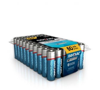 picture of Rayovac 60 Pack AA Alkaline Battery Sale