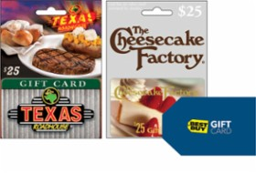 picture of Free $10 Best Buy Gift Card with $50 in Gift Cards