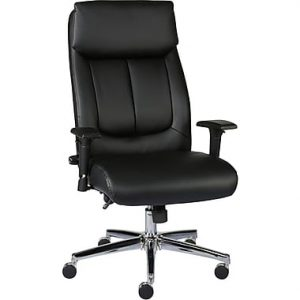 picture of Staples Sevit Bonded Leather Office Chair