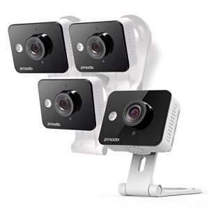 picture of Zmodo Wireless 2 way 720p Wi-Fi Security Camera 4 Pack with Night Vision Sale