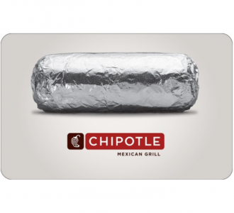 picture of Buy a $25 Chipotle Gift Card for only $20 - Via Email delivery