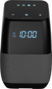 picture of Insignia Voice Smart Bluetooth Speaker, Alarm Clock with Google Assistant Sale