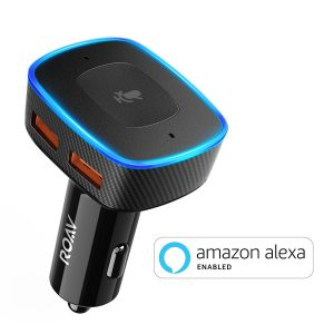picture of Roav VIVA, by Anker, Alexa-Enabled 2-Port USB Car Charger