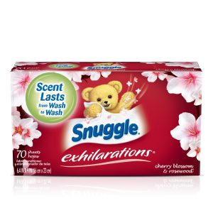 picture of Snuggle Exhilarations Fabric Softener Dryer Sheets 70 count Sale
