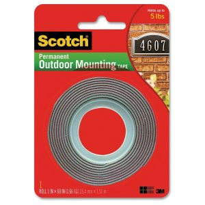 picture of 3M Scotch Exterior Mounting Tape, 1 in x 60 in Sale