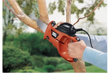 picture of BLACK+DECKER 3.4 Amp Powered Handsaw with Storage Bag