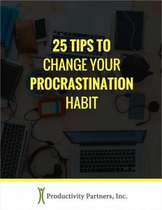 picture of Free 25 Tips to Change Your Procrastination Habit eBook