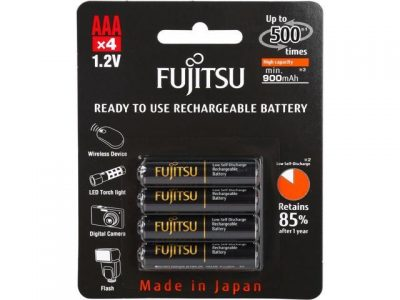 picture of Fujitsu AAA NiMH Rechargeable Battery Sale