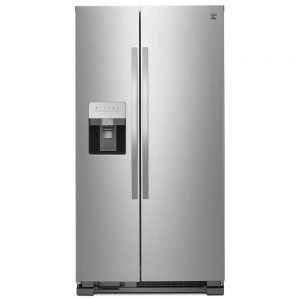 picture of Kenmore 25 cu. ft. Side-by-Side Refrigerator with Ice & Water Dispenser
