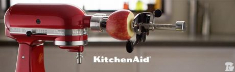 picture of KitchenAid KSM1APC Spiralizer Attachment with Peel, Core and Slice