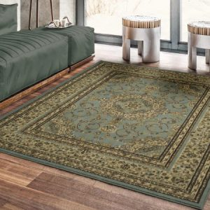 picture of Ottomanson Royal Collection New Oriental Medallion Design Area Rug