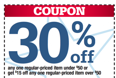 picture of Ace Hardware 30% off 1 Regularly Priced Item