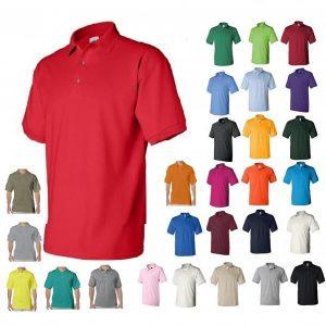 picture of Gildan DryBlend Mens Polo Sport Shirt Jersey T-Shirt Sale