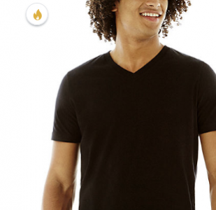 picture of Arizona Short Sleeve V Neck T-Shirt Sale