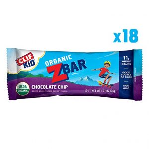 picture of CLIF KID ZBAR - Organic Energy Bar - Chocolate Chip, 18 Count
