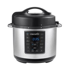 picture of Crock-Pot 6 Qt 8-in-1 Programmable Slow Cooker, Pressure Cooker Sale