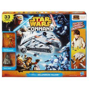picture of Star Wars Command Millennium Falcon Set