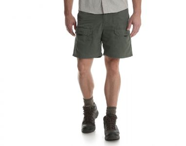 picture of Wrangler NEW Mens Hiker Relaxed Fit Boyscout Front Cargo Shorts Sale