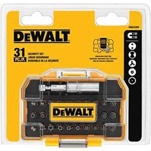 picture of DEWALT DWAX200 Security Screwdriving Set, 31-Piece Sale