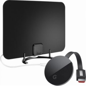 picture of Google Chromecast Ultra Streaming Media Player with Free Rocketfish Antenna