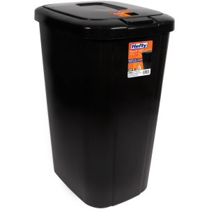 picture of Hefty Touch-Lid 13.3 Gallon Trash Can Sale