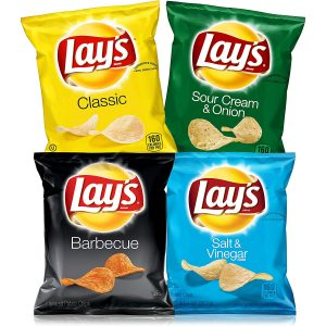 picture of Lay's Potato Chips Variety Pack, 1 oz Bags, 40 Count Sale