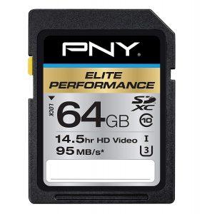 picture of PNY 64GB SDXC Memory Storage Sale