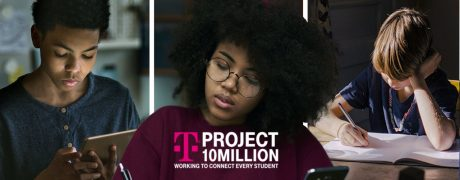 picture of T-Mobile Project 10 Million: 100GB of Mobile Data/Year + Mobile Hotspot