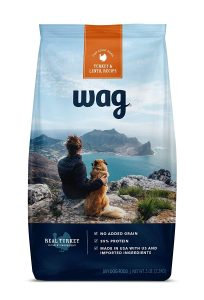 picture of Amazon Brand - Wag Dry Dog Food Trial Size, No Added Grain, 5 lb. Bag Sale