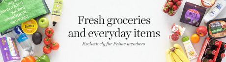 picture of Amazon Fresh Grocery Delivery now included in Prime
