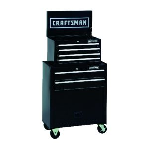 picture of Craftsman 26 in. 6-Drawer Rolling Tool Cabinet + 104pc Mechanics Tool Set Sale