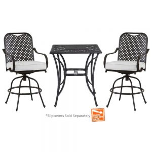 picture of Hampton Bay Fall River 3-pc Outdoor Dining Set Sale