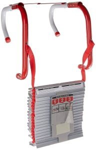 picture of Kidde Three-Story Fire Escape Ladder with Anti-Slip Rungs, 25-Foot