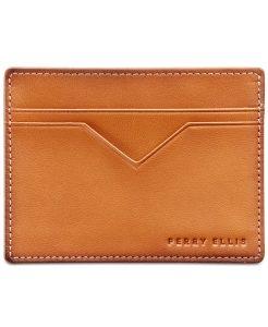 picture of Perry Ellis Men's Leather Card Case - Wallet Sale Sale