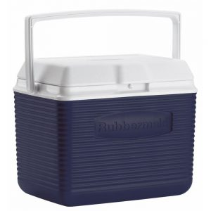 picture of Rubbermaid 10qt Blue Ice Chest Cooler Sale