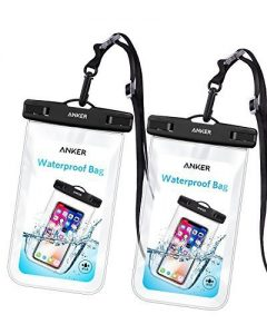 picture of Anker Universal Smartphone Waterproof Case (2-Pack) Sale