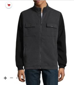 picture of Decree Military Raglan Fleece Jacket Sale