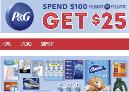 picture of Costco - Spend $100 on select P&G Products, Get $25 Cash Card