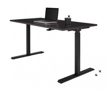 picture of Realspace Magellan Pneumatic Stand Up Height-Adjustable Desk Sale