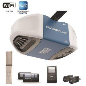 picture of Chamberlain 1.25 HP Smart Garage Door Opener with Built-In WiFi