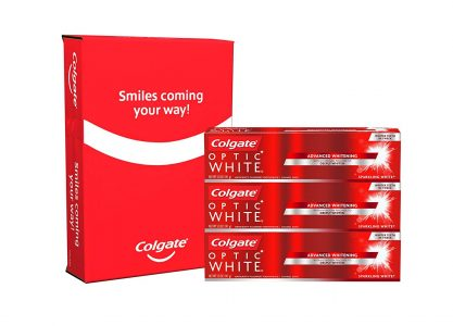 picture of Colgate Optic White Whitening Toothpaste 3-pk Sale