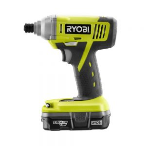 picture of Ryobi 18-Volt ONE+ Cordless Lithium-Ion 1/4 in. Hex Impact Driver Sale