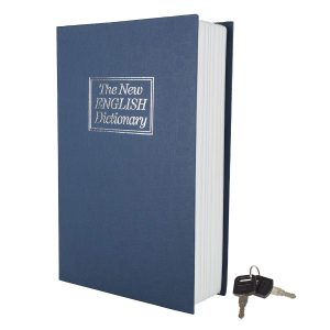picture of Stalwart Lock Box with Key, Diversion Book Safe Sale